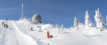 Ski Alpin im Bayerischen Wald am Arber
