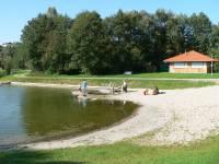 Schwimmen am Badesee Bayerischer Wald