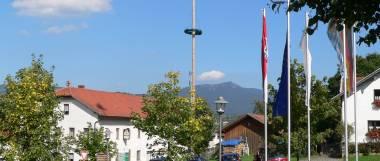 Ferienhaus Bayerischer Wald - Bild Berg Osser bei Lam