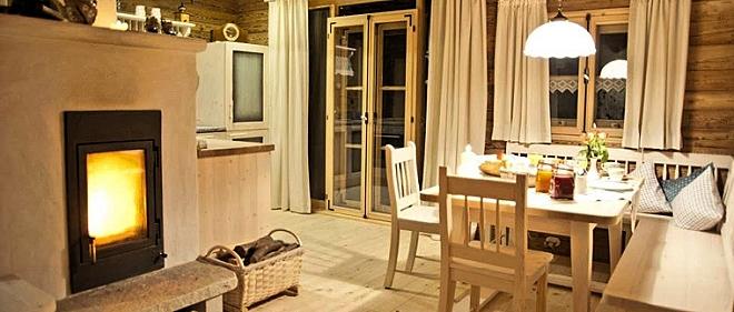 Bayerischer Wald Luxushütte für 2 bis 4 Personen Wohnküche